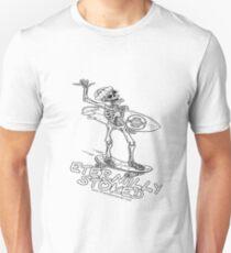 ETERNALLY STOKED ILLUSTRATED SKELETON T-Shirt