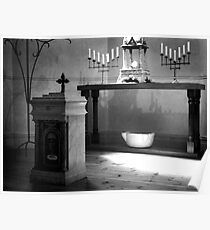 The Altar at the Chapel Poster