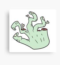 broken fingers Canvas Print