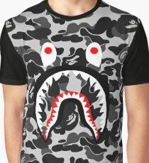 camo black Graphic T-Shirt