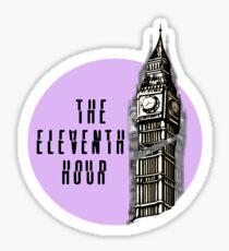 The Eleventh Hour--The Adventure Zone Sticker