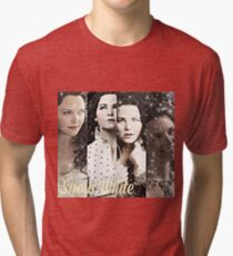 Once Upon A Time - Snow White collage Tri-blend T-Shirt