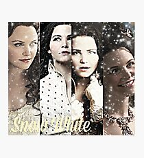 Once Upon A Time - Snow White collage Photographic Print