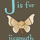 J is for Jicamoth by veronicafannin