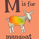 M is for Mangoat by veronicafannin