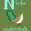 N is for Nightinkale by veronicafannin