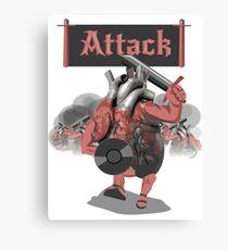 heart attack Canvas Print