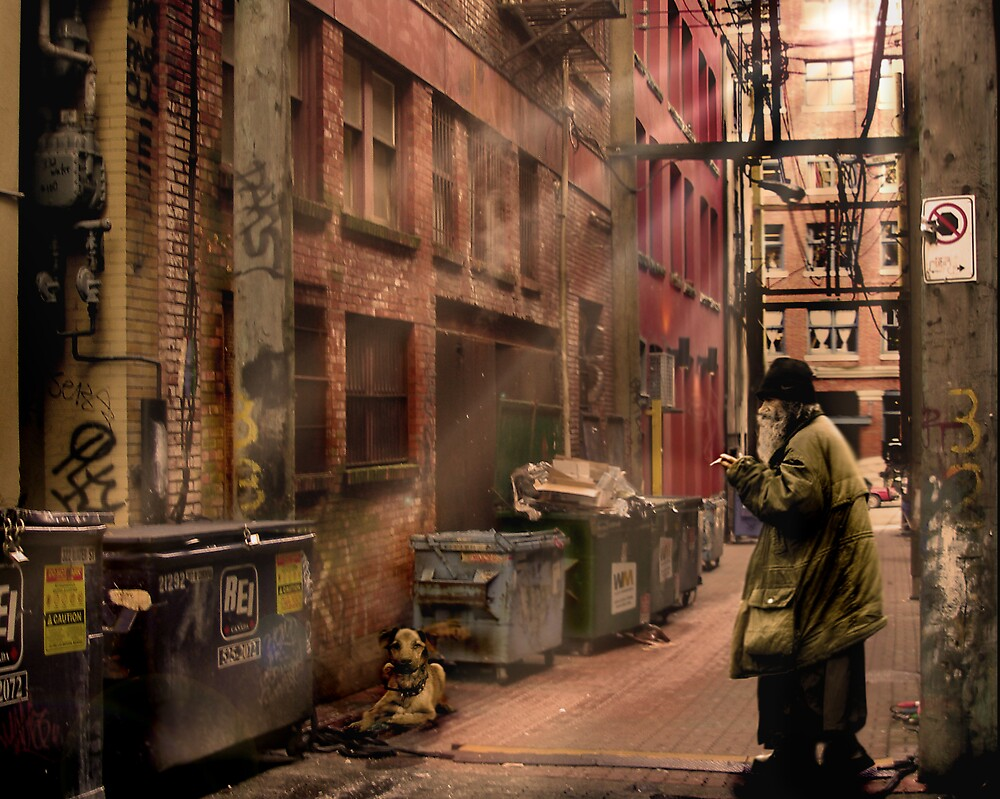 Blood Alley  by Cliff Vestergaard