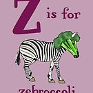 Z is for Zebroccoli by veronicafannin