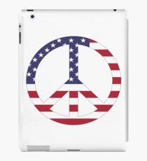 Patriotism - American Peace iPad Case/Skin
