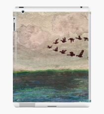 Flying V of Geese iPad Case/Skin