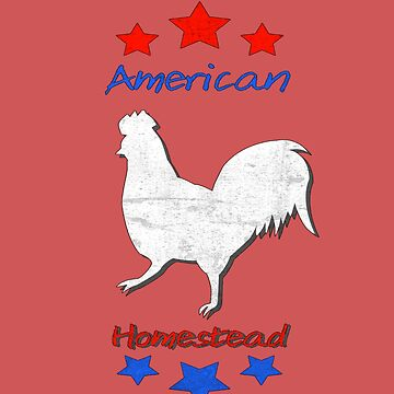 American Homestead Backyard Chicken by DCPCreative