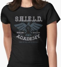 SHIELD Academy (Ops Division) V2 Womens Fitted T-Shirt