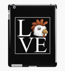 Love Chicken Shirt iPad Case/Skin