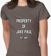 Property of Jake Paul Womens Fitted T-Shirt