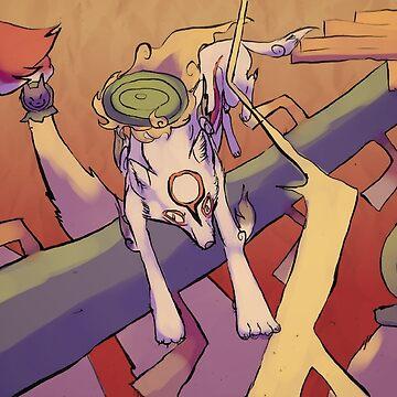 Okami - Nine's Gauntlet by grunesgryphon