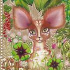 Fawn in the Dewy Forest by Nalinne Jones