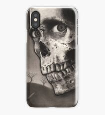 Evil Dead II - Bloody Ash with Skull Horror Art iPhone Case/Skin
