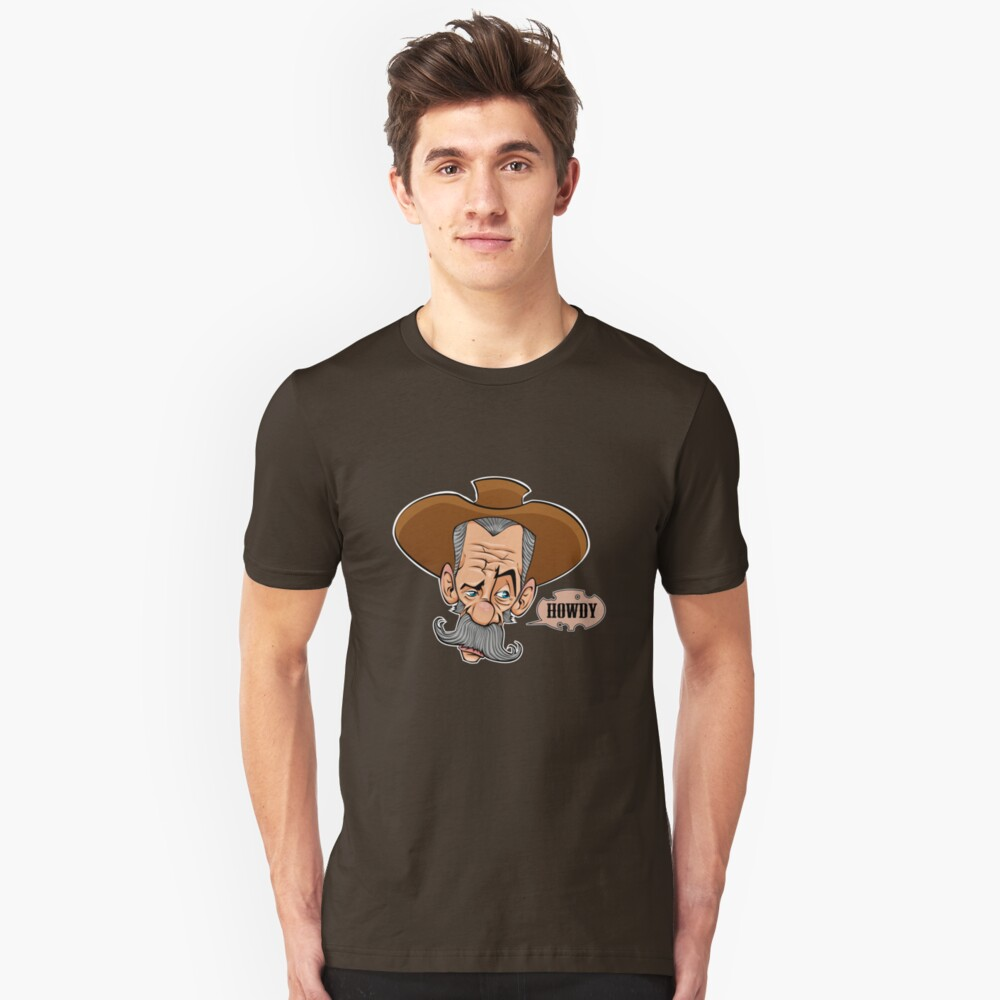 Howdy Unisex T-Shirt Front