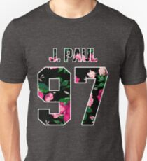 Jake Paul - Colorful Flowers T-Shirt