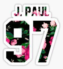 Jake Paul - Colorful Flowers Sticker