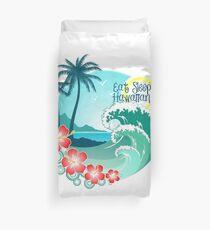Funda nórdica Eat Sleep Surf Hawaiian Style 2