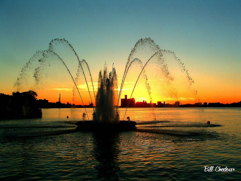 Peace Fountain by Bill Chedour