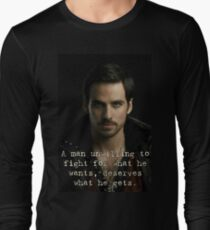 Captain Hook Quote Long Sleeve T-Shirt