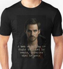 Captain Hook Quote Unisex T-Shirt