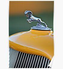 1933 Dodge Ram Hood Ornament - Grille-0410c Poster