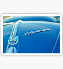 1956 Volkswagen VW Bug Hood Emblem -0102c Sticker