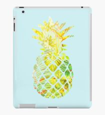 Pick A Pleasant Pineapple in Paradise #RBSTAYCAY #Sky #Blue #Tropical #Jungle #Summer #BeachParty iPad Case/Skin