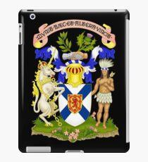 NOVA SCOTIA COAT OF ARMS iPad Case/Skin