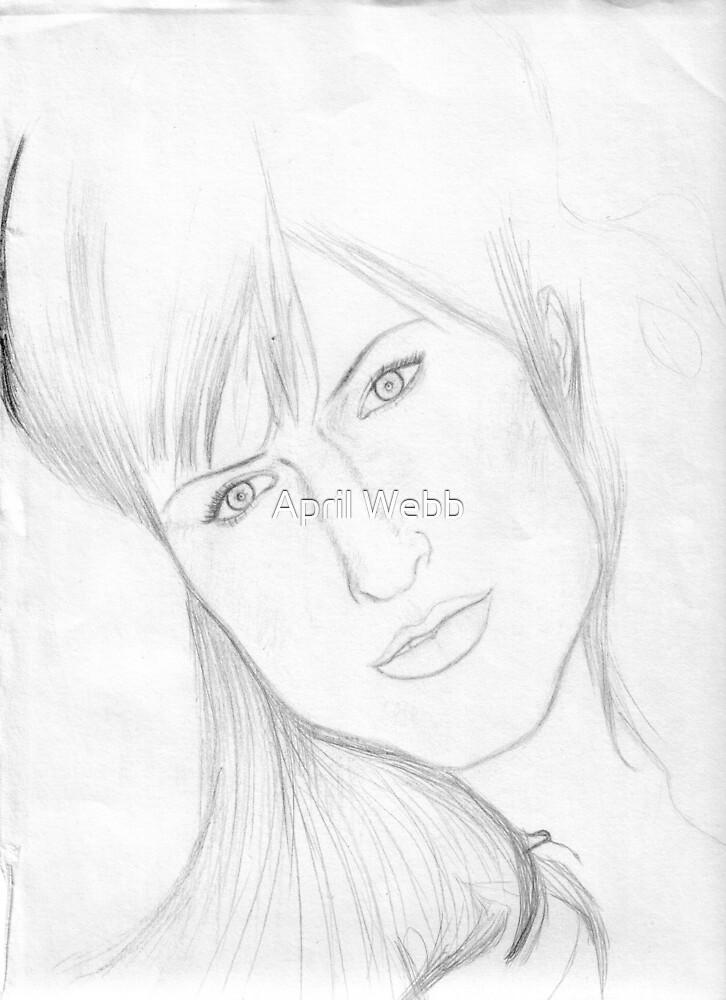 Ashley Simpson  by April Webb
