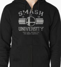 Smash University V2 Zipped Hoodie