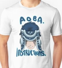 Aoba. Instructions. (Rhyme Ver) Unisex T-Shirt