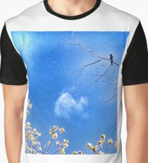 Blossom Crow Graphic T-Shirt