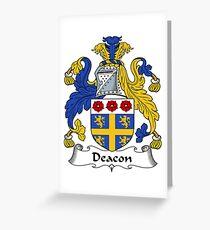 Deacon  Greeting Card