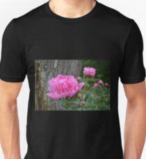 Pink Peony Garden Unisex T-Shirt
