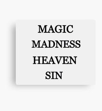 Taylor Swift - Magic Madness Heaven Sin Canvas Print
