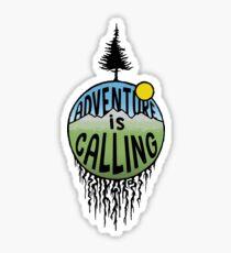 Adventure is calling Sticker Sticker
