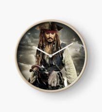 captain jack sparrow Clock