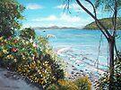 Long Island Beach, Australia by Linda Callaghan