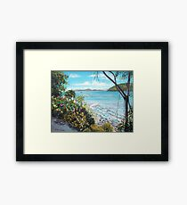Long Island Beach, Australia Framed Print