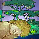 "Girl In a Landscape 4 by Belinda ""BillyLee"" NYE (Printmaker)"