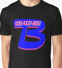 """""""We Are The B"""" V2 Black (Bisexual Pride) Graphic T-Shirt"""