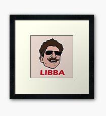 Tom Libba - Face Framed Print