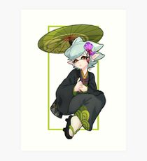 Marie - Splatoon 2 Art Print