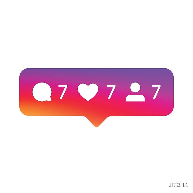 """Instagram Jackpot 777"" by JITBHK | Redbubble"
