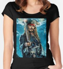 Dead Men Tell No Tales - Jack sparrow Women's Fitted Scoop T-Shirt
